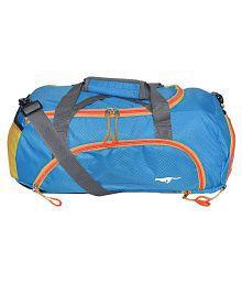 Gene Blue Large Nylon Gym Bag - 679281984474