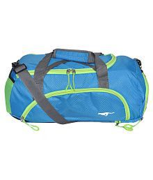Gene Blue Large Nylon Gym Bag - 621571862516