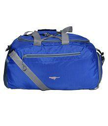 Gene Blue Large Nylon Gym Bag - 633543541776
