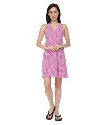Slumber Jill Cotton Nighty & Night Gowns - 637091708524