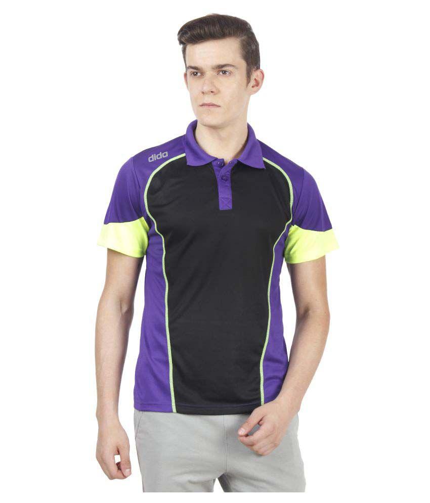 Dida Sportswear Multi Polyester Polo T-Shirt