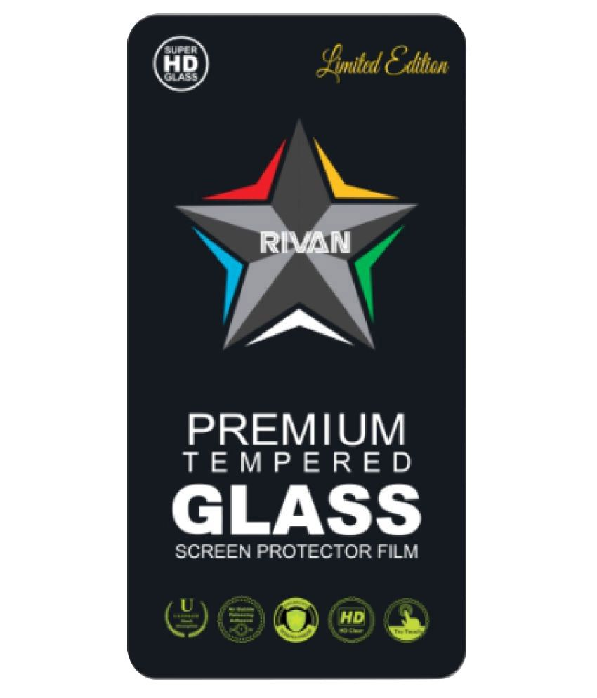 HTC Desire 326G Tempered Glass Screen Guard By Rivan