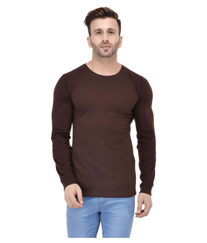Acomharc Inc Brown Round T-Shirt