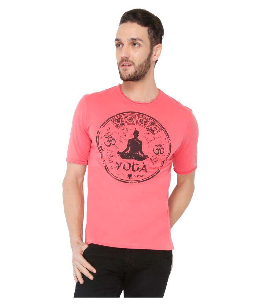 Dbox Pink Round T-Shirt