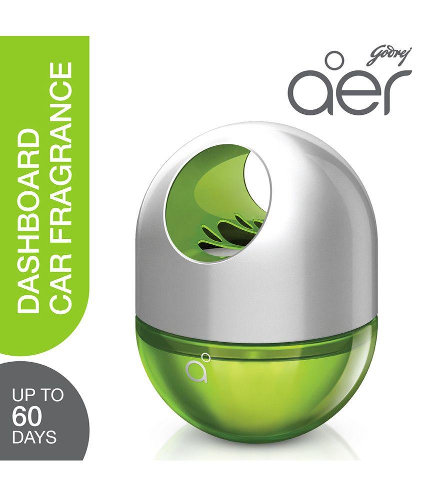 Godrej aer Twist - Car Freshener - Fresh Lush Green (45 gm)