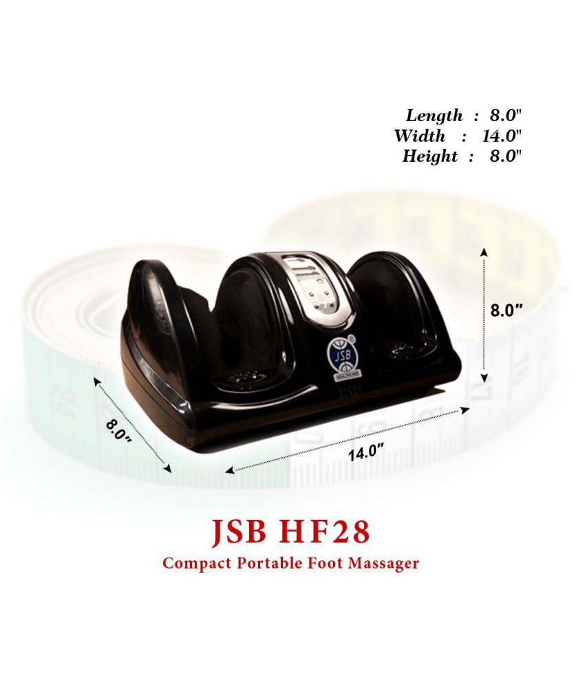 Beautiful ... JSB HF28 Compact Portable Foot Massager For Pain Relief ...