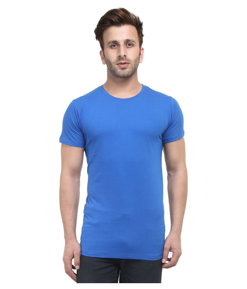 Stitch Studios Blue Round T-Shirt