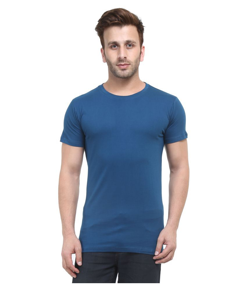 Stitch Studios Blue Round T-Shirt