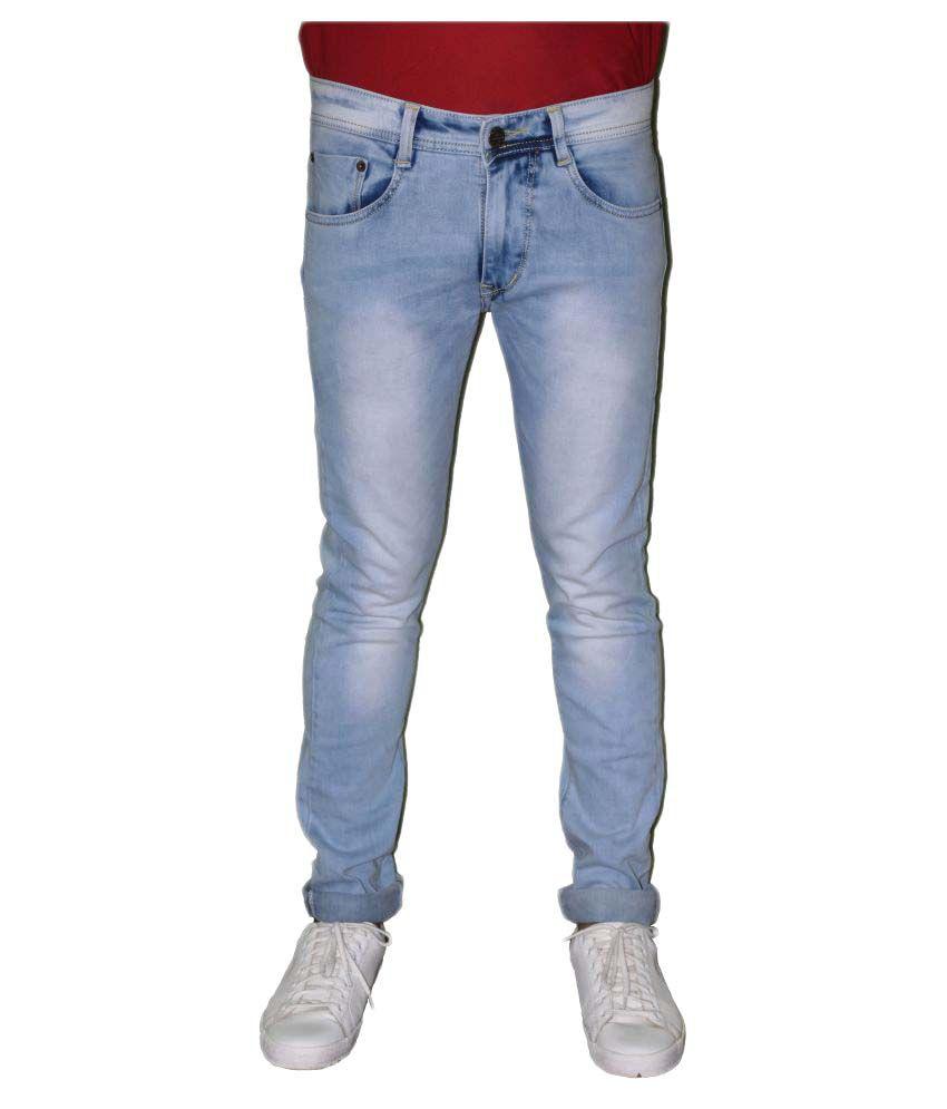 Detne Light Blue Slim Jeans