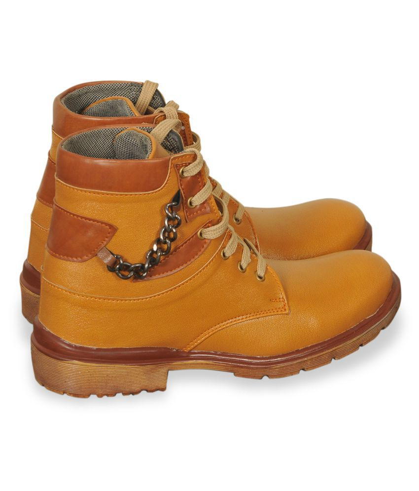 6four Shoes Bronze Casual Boot