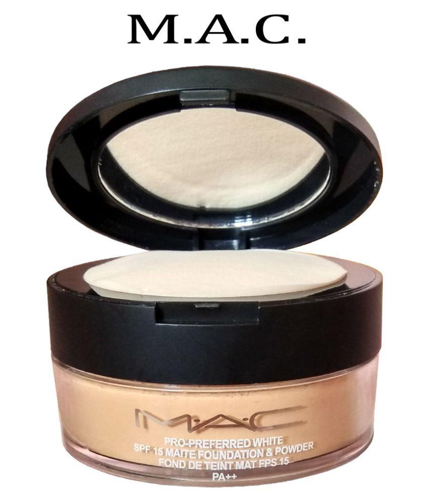 Mac Loose Powder Foundation SPF 15 32 gm
