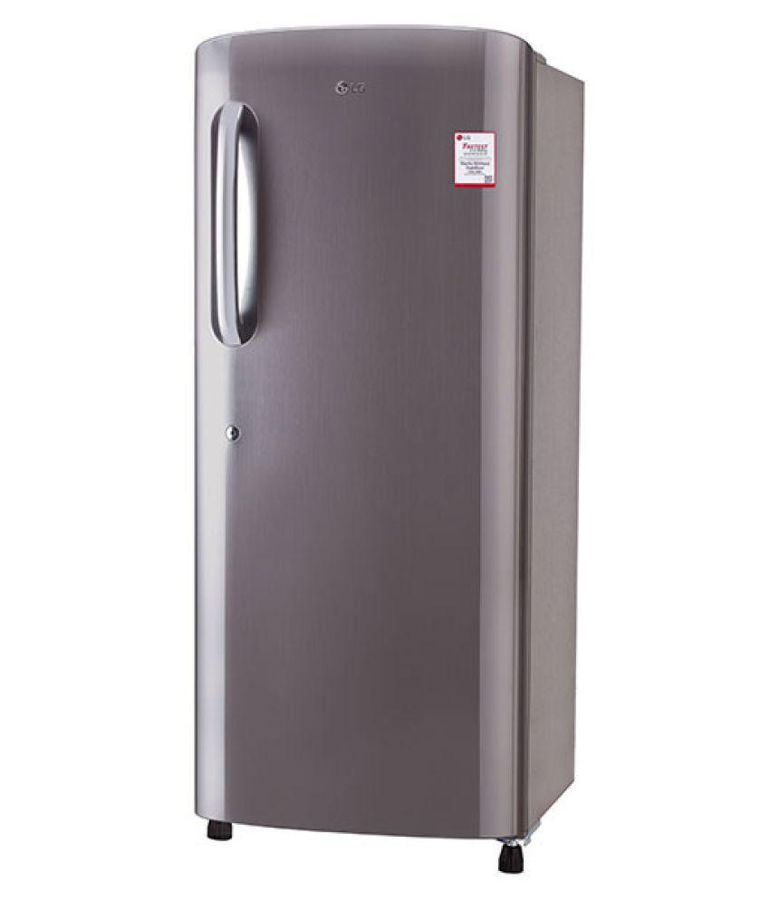 LG 235 Ltr 4 Star GL-B241APZX Single Door Refrigerator -...