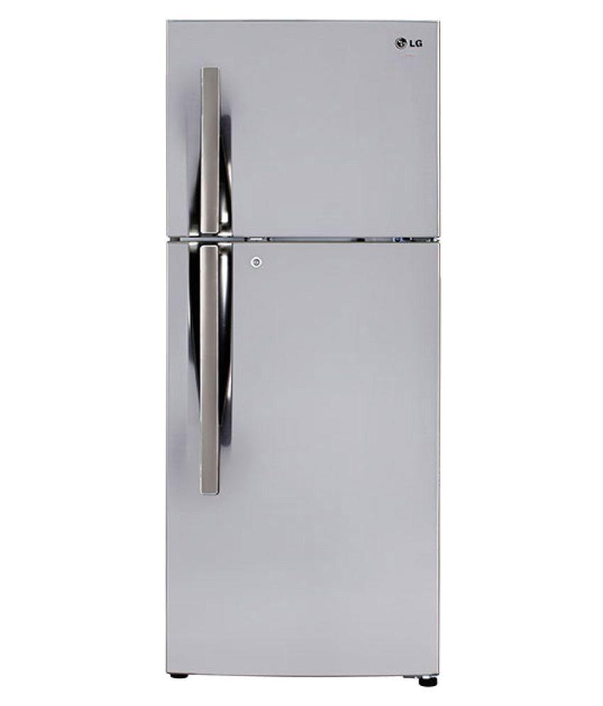 LG 260 Ltr 3 Star GL-I292RPZY Double Door Refrigerator -...