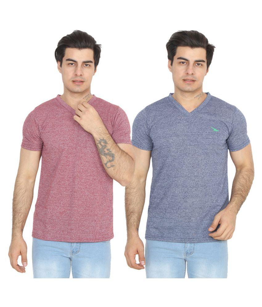 PRO Lapes Multi V-Neck T-Shirt