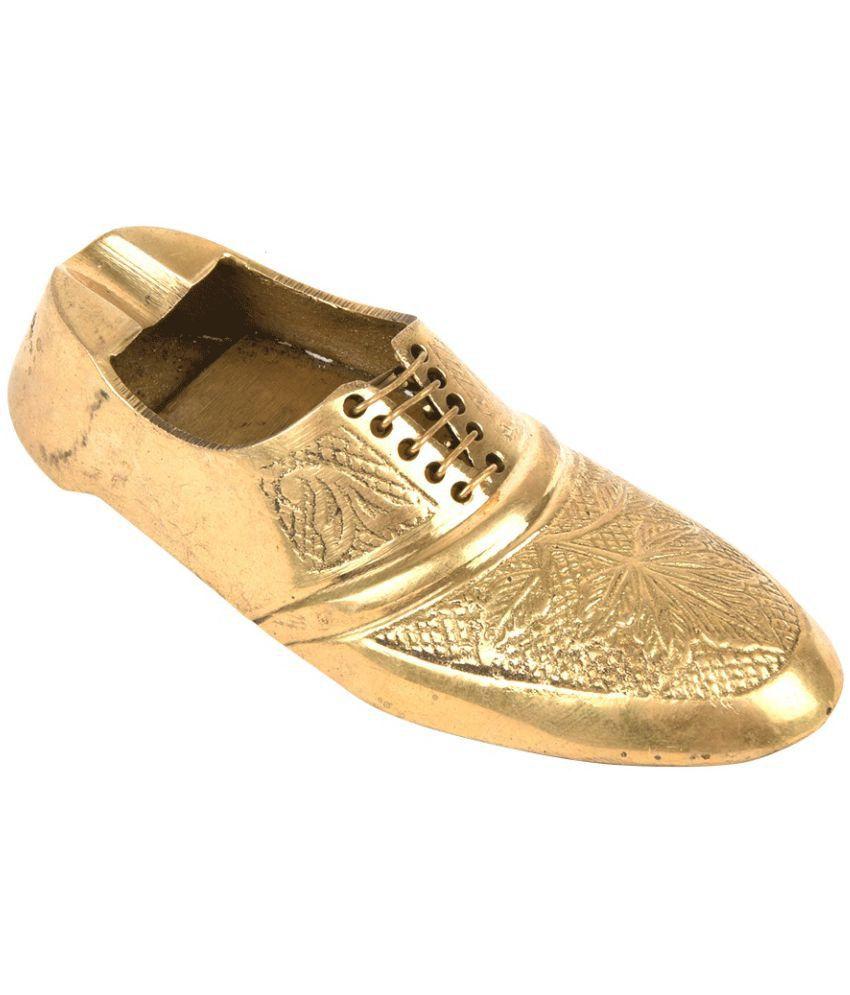 Jewel Fuel Brass Shoe Ash Tray