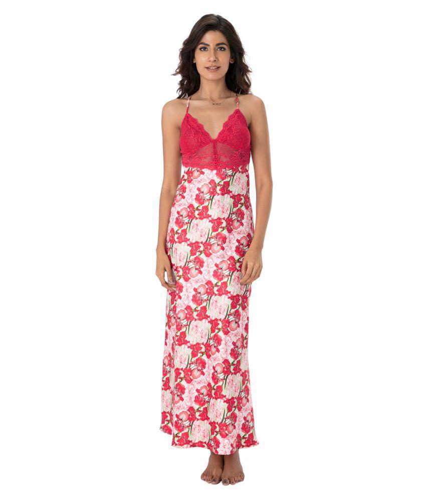 PrettySecrets Polyester Nighty & Night Gowns