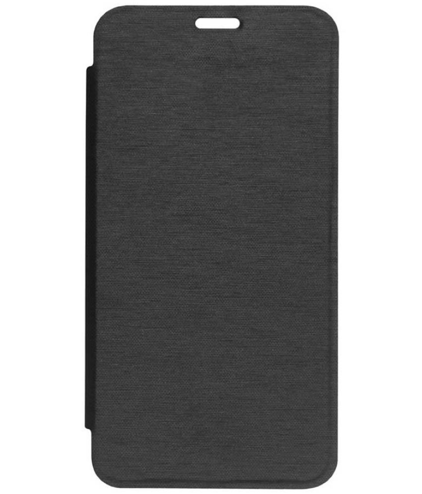Microsoft Lumia 640 Flip Cover by Shanice - Black