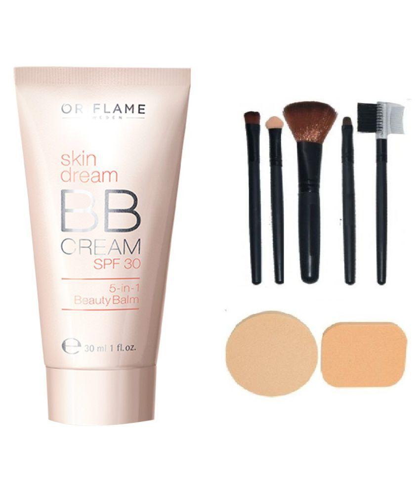 Apply Oriflame Bb Cream Grendizer Giordani Gold Cc Spf 35 Skin Dream 30 Medium With Make Up Brush Set