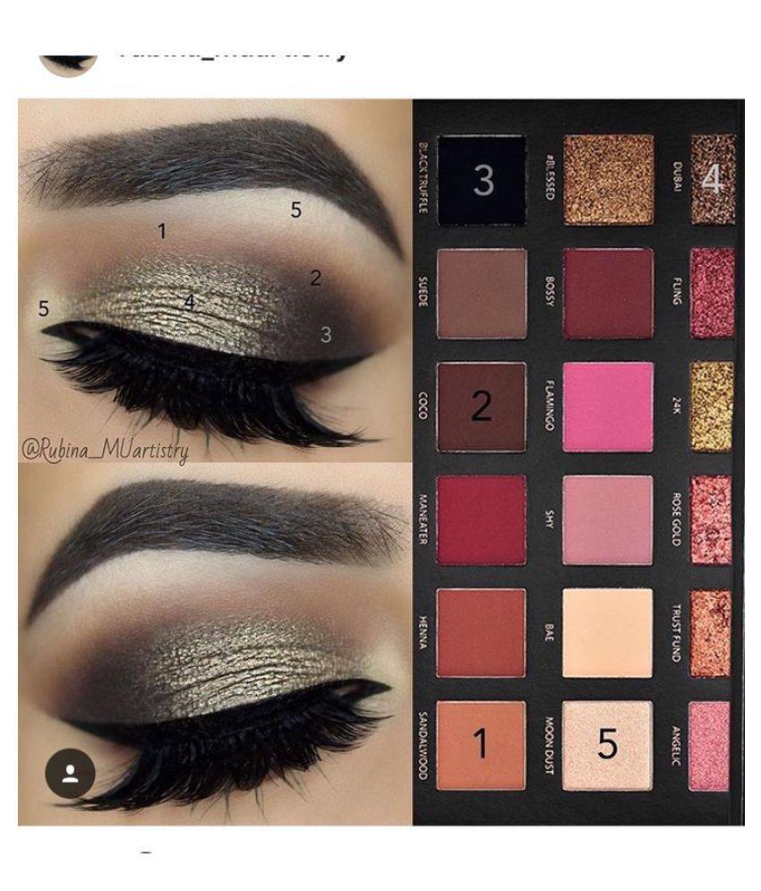 Huda Beauty Textured Shadows Palette Rose Gold Edition Buy Huda