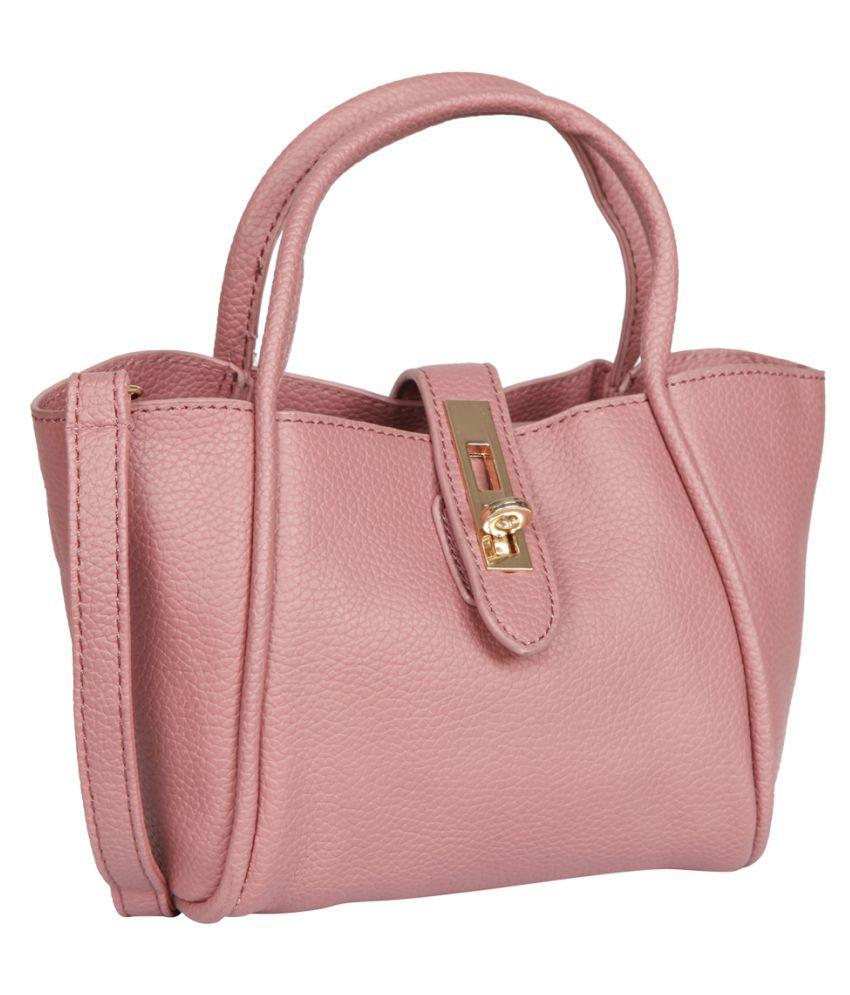Bagkok Pink P.U. Handheld