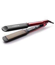 Nova NHS 870 Hair Straightener ( Black and Pink )