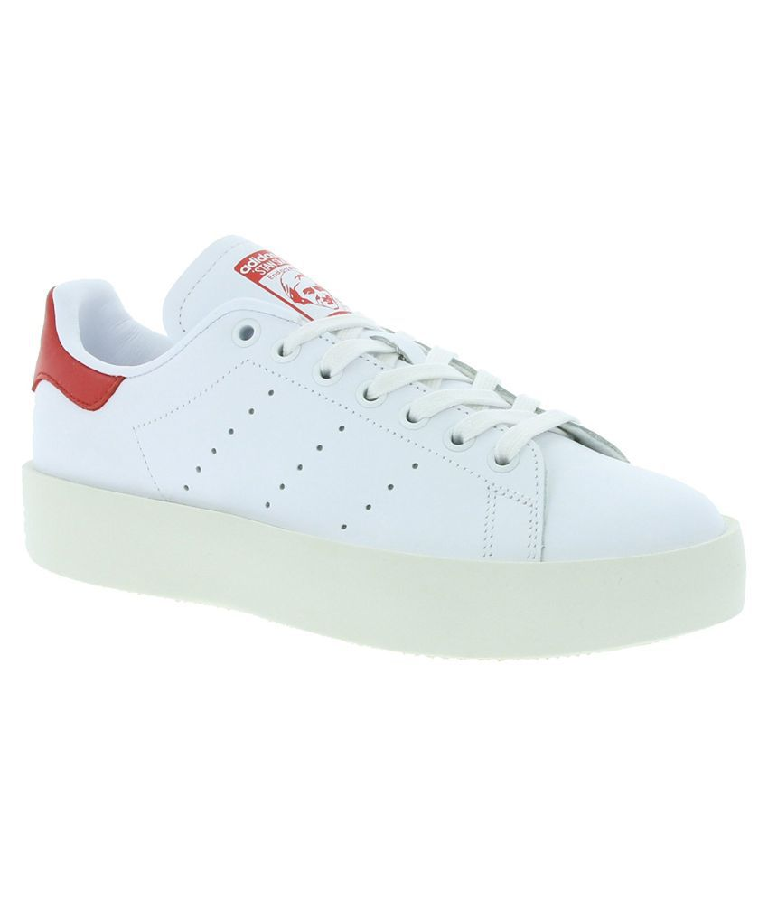10bc0a3e269a8e Adidas Stan SMith Bold W Sneakers White Casual Shoes - Buy Adidas Stan  SMith Bold W Sneakers White Casual Shoes Online at Best Prices in India on  Snapdeal