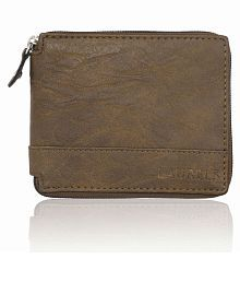 Laurels Leather Brown Casual Regular Wallet