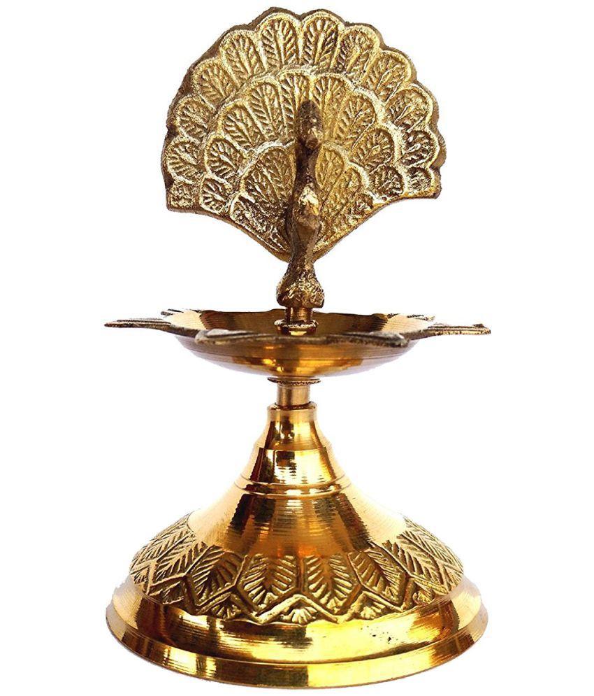 Rastogi Handicrafts Brass Pooja Deep