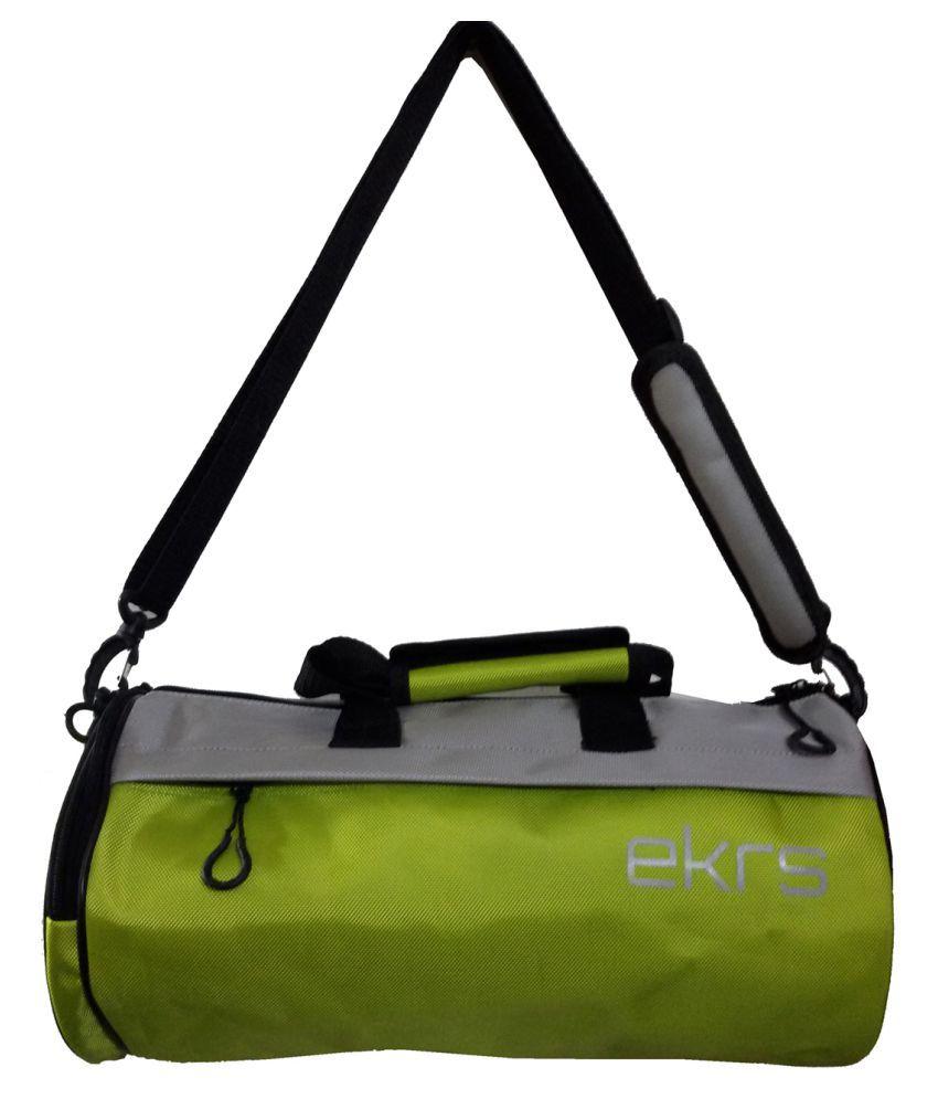 Ek Retail Shop Yellow Medium Polyester Gym Bag
