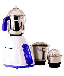 BMS Lifestyle Blue 550 Watt 3 Jar Mixer Grinder