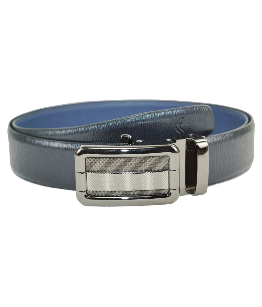 Sizzlers Black Leather Casual Belts