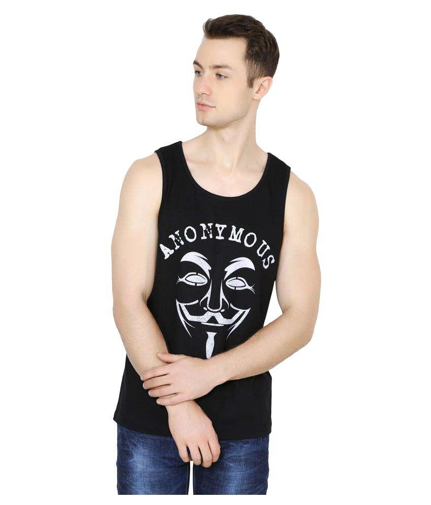 Ruse Black Round T-Shirt