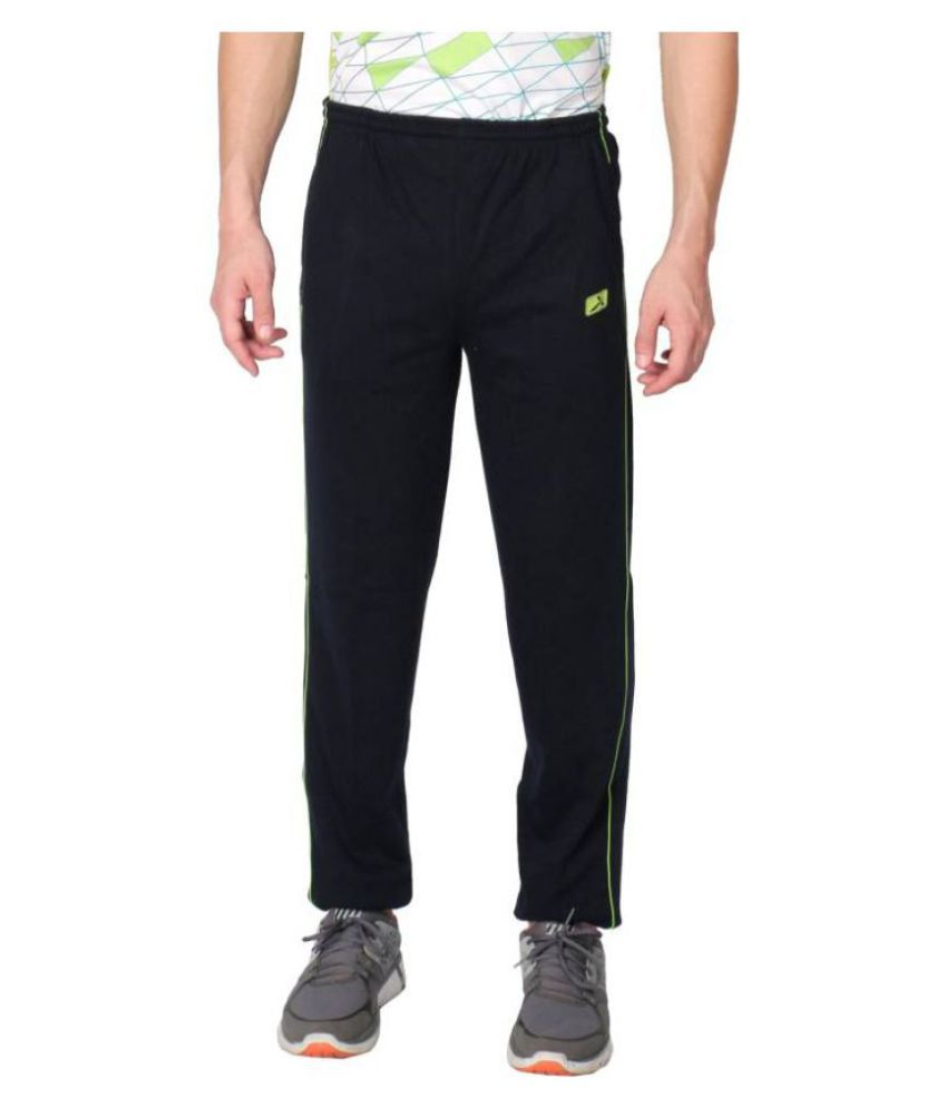 Vector X Navy Polyester Trackpants