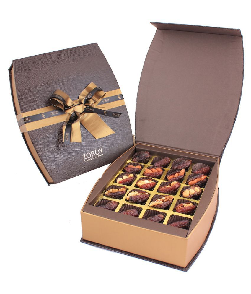 ZOROY LUXURY CHOCOLATE Assorted Box Ramzan leather box of 20 1000 gm