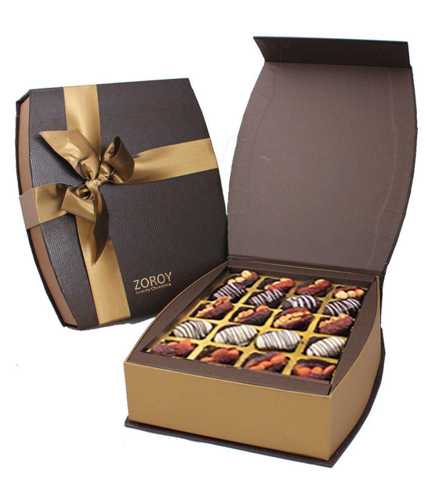 ZOROY LUXURY CHOCOLATE Assorted Box Ramzan Curved box of 20 1000 gm