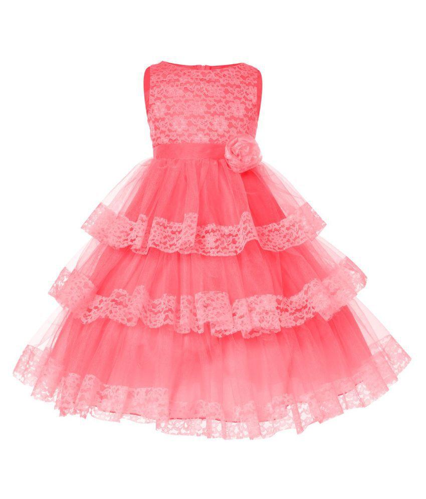 Sofyana 1-10 Years Little Girls Party Wear Dress & Gown - Buy ...