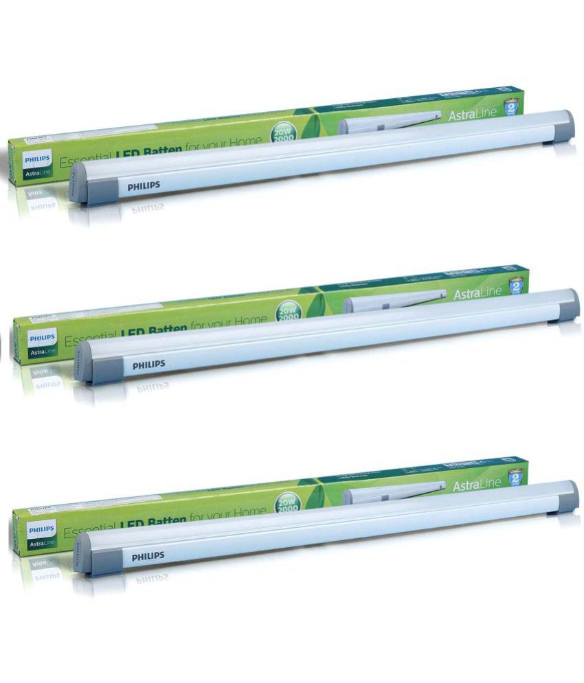 Philips 20W LED Tube Light Cool Day Light - Pack of 3