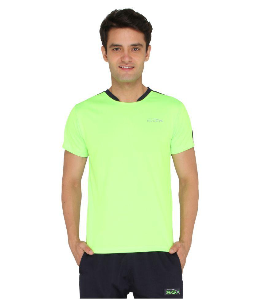 SGX Green Round T-Shirt
