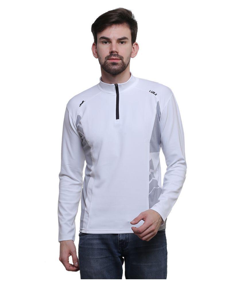 Lura Off-White Round T-Shirt