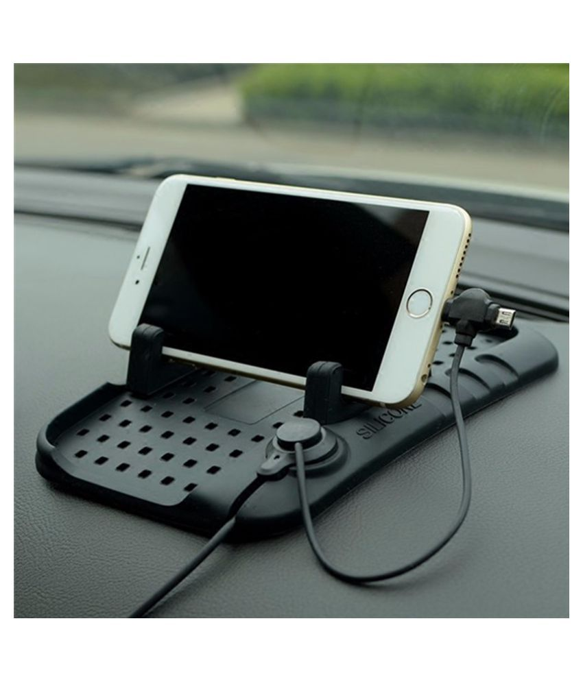 Shopizone Car Mobile Holder Magnetic for Other Surfaces - Black: Buy ...