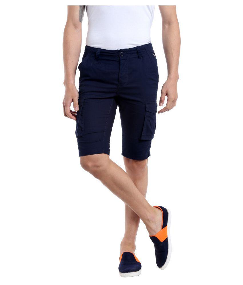 Fast n Fashion Blue Shorts