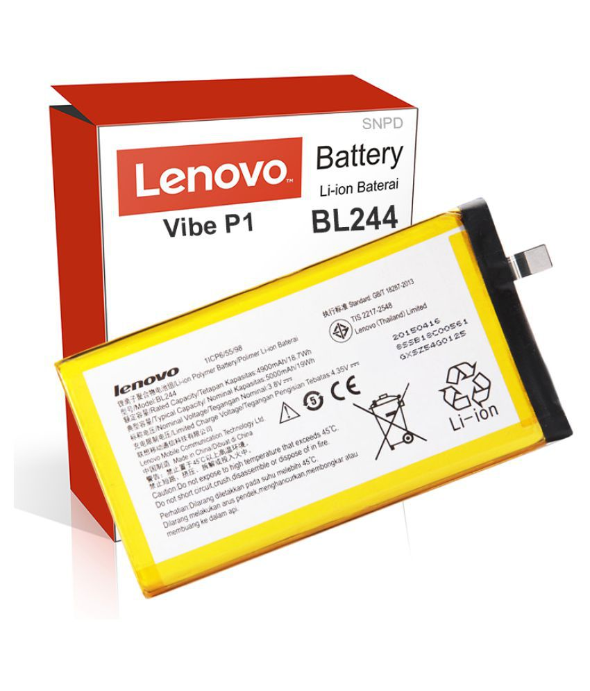 Lenovo Vibe P1 5000 mAh Battery by SNPD