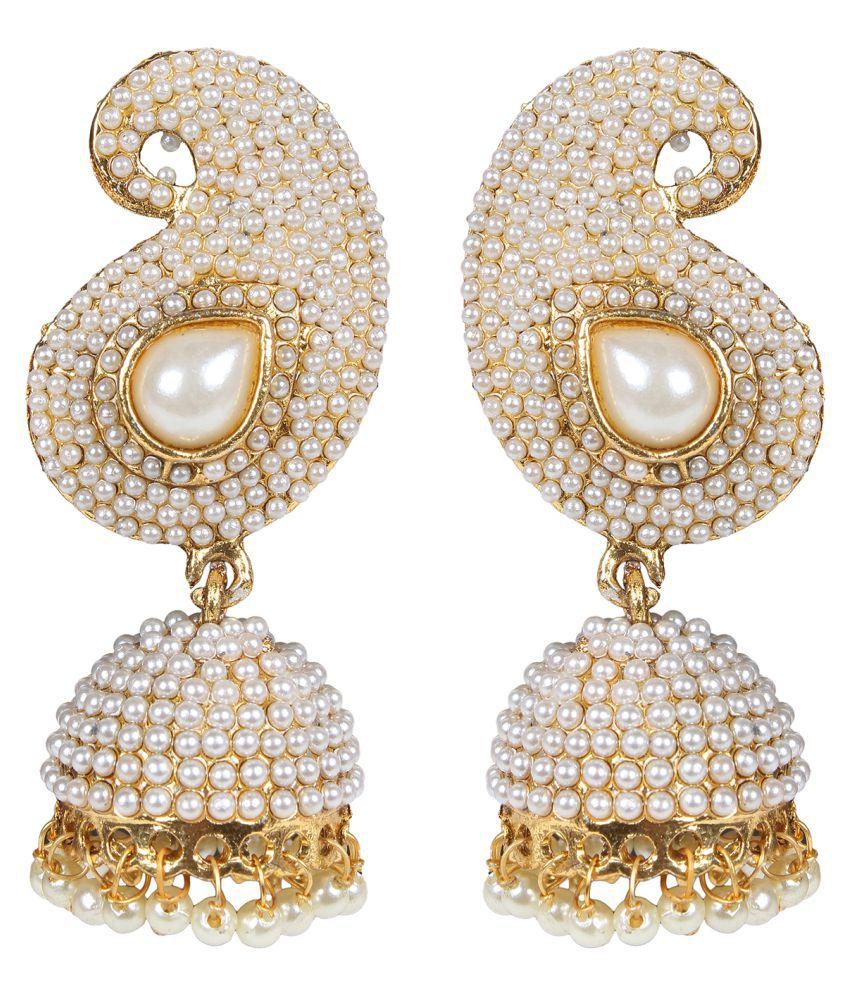 Penny Jewels Alloy Latest Party Wear Jhumki Set For Women & Girls