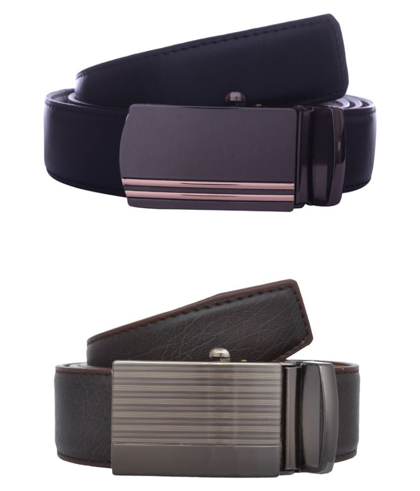 Exotique Multi Faux Leather Combo Belts