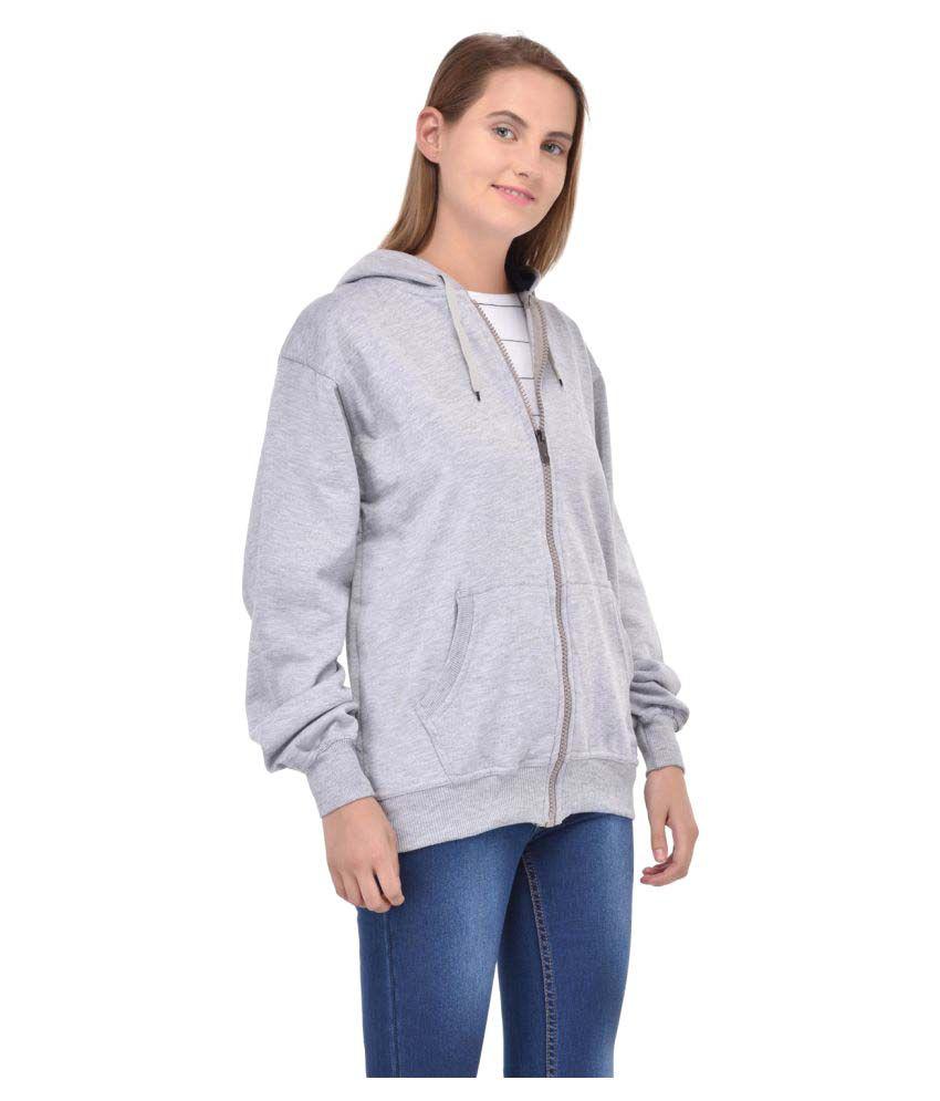 Ansh Fashion Wear Cotton - Fleece Hooded
