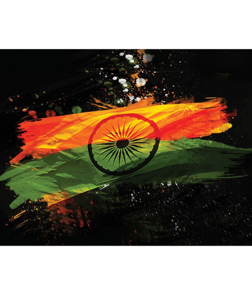 Mukesh Handicrafts Indian Flag Canvas Art Prints Without Frame Buy