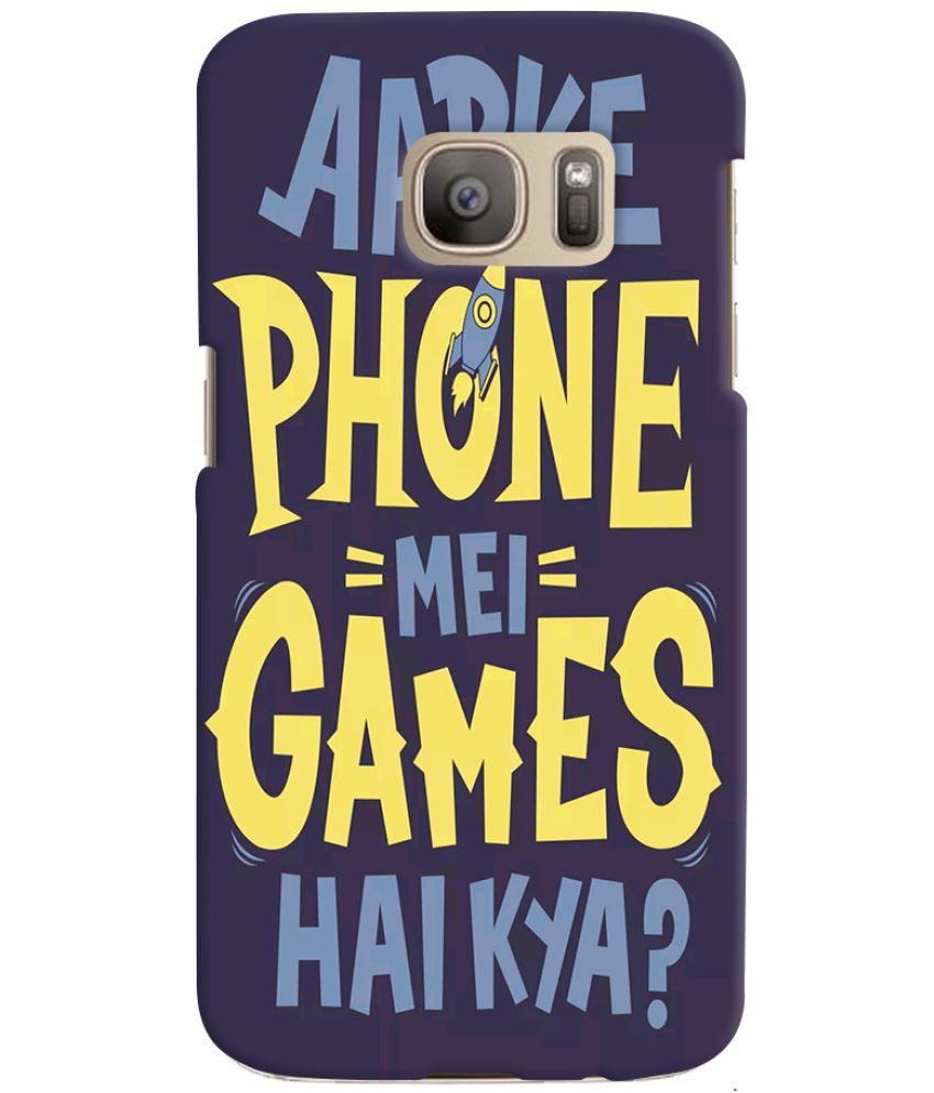 Samsung Galaxy S7 Edge Printed Cover By Case king