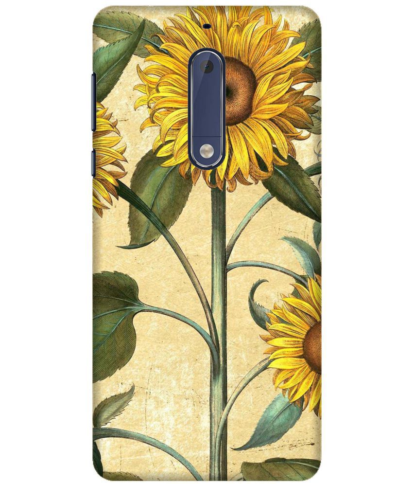 Nokia 5 3D Back Covers By Wow