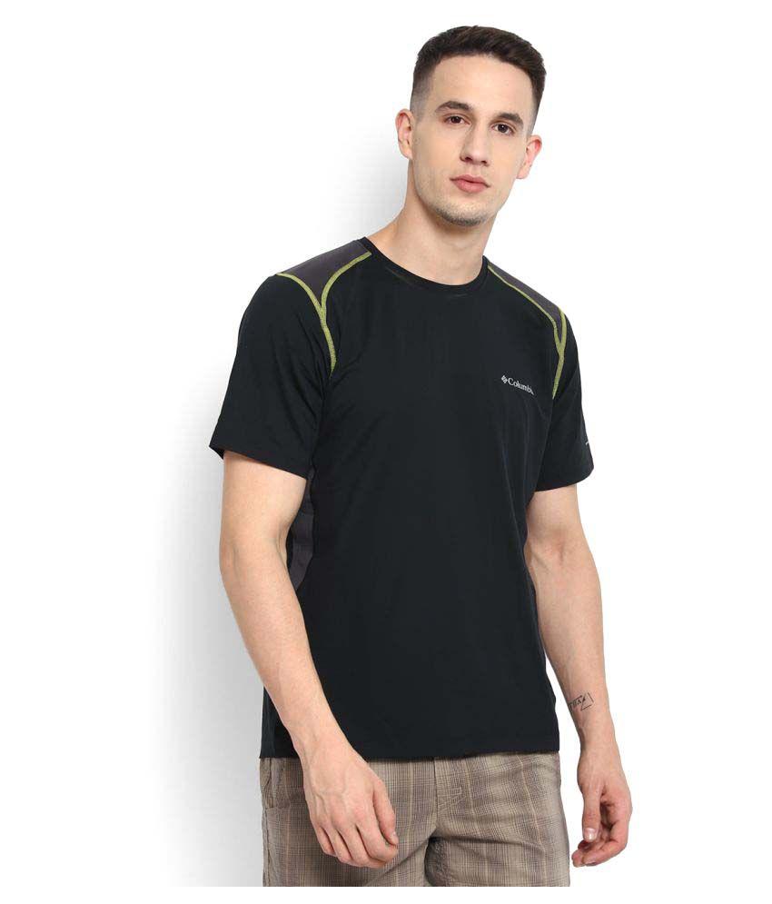 Columbia Black Round T-Shirt