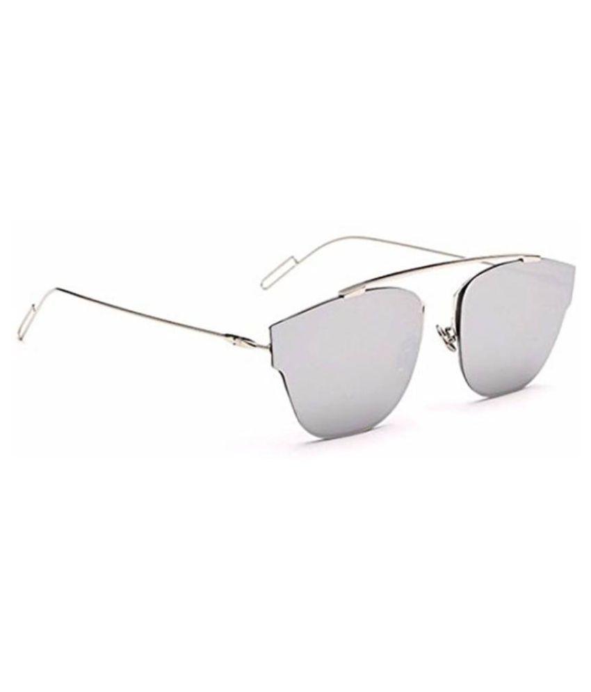 08dfe37e73 Dior Silver Aviator Brow-Bar Sunglasses ( D3025 ) - Buy Dior Silver ...